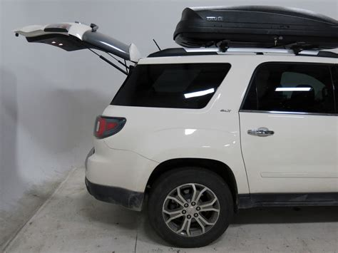 gmc acadia thule pulse large rooftop cargo box  cu ft