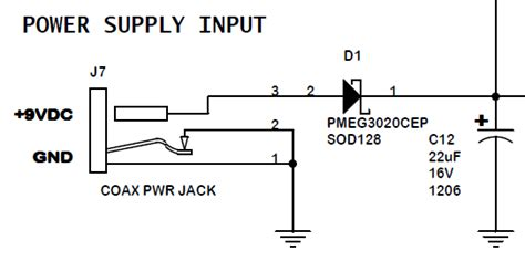dc power supply jack connector pinout electrical