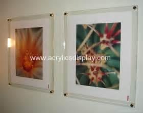 plastic photo album acrylic poster kits wall frame apf 02 tw china