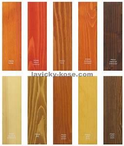 Vzorník barev na dřevo