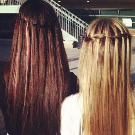 Schöne und einfache frisuren für lange haare