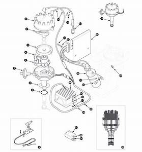 Distributor  Ignition Coil And Amplifier