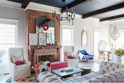 Living Decor Whimsical Colorful Elegant Decorating Valentine