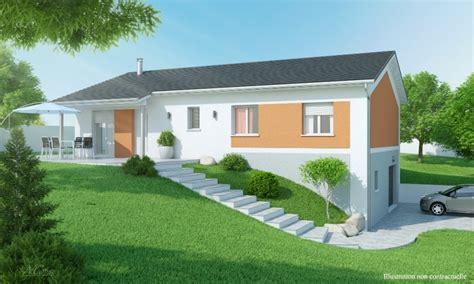 plan maison etage 3 chambres gratuit maison 3 à 4 chambres avec sous sol construction maison