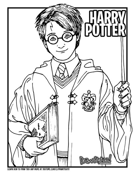 How to Draw HARRY POTTER (Harry Potter Movie Series