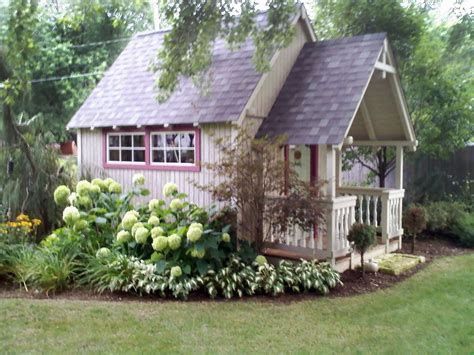 landscaping around a garden shed garden sheds they ve never looked so good landscaping ideas and hardscape design hgtv