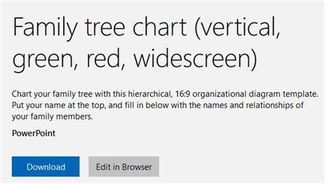 create   family tree  powerpoint templates