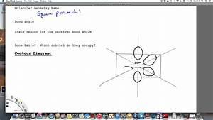 If5 Sp3d2 Hybridization Contour Diagram