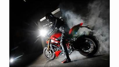 Ducati Bike Streetfighter Burnout Naked Smoke Wallpapers