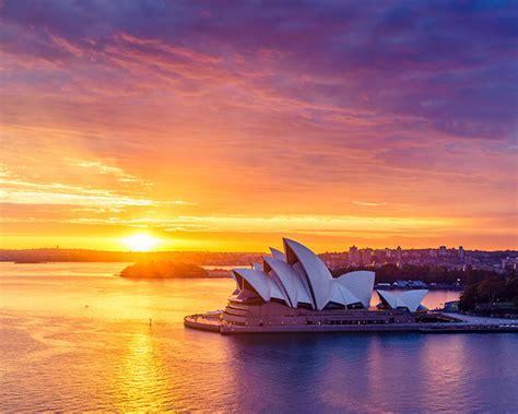 sydney harbour sunrise   sydney shots sydney