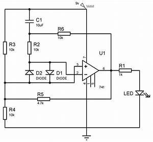 Op Amp Comparator Circuit Schematic Schematic