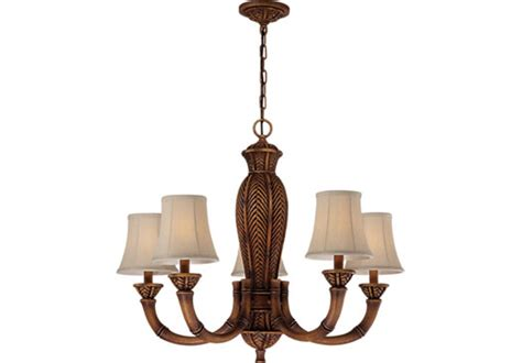 Hawaiian Chandelier by Tropical Chandelier Chandeliers Brown