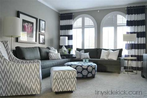 traditional living rooms bold and bright living room makeover before after Contemporary
