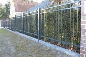 Aluminium Zaun Modern : zaun stettin tor pinterest fences iron gates and gate ~ Articles-book.com Haus und Dekorationen