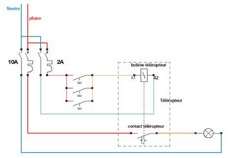 schema de principe dun telerupteur