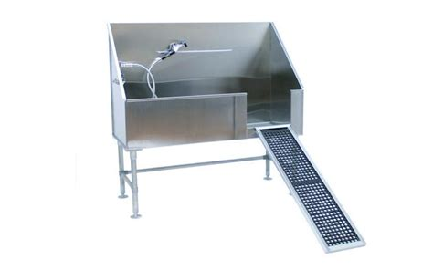 groomers tub 60 quot grooming tub with removable r is a big deal