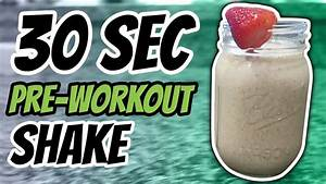 Best Pre Workout Shake For Weight Loss Recipe  In Just 30 Seconds