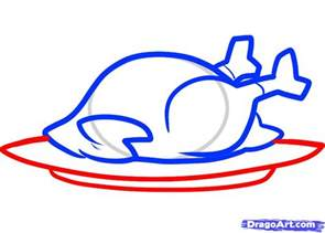 how to draw a thanksgiving turkey cooked turkey step by step thanksgiving seasonal free