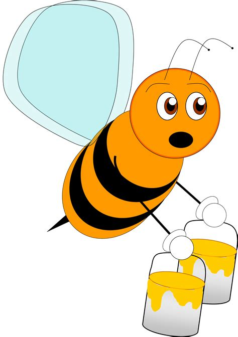 bee clipart png bee clip images black and white