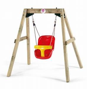 Balanoire Bb Plum Wooden Baby Swing SuperBaby