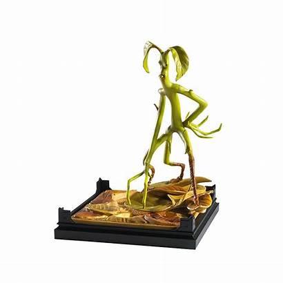 Beasts Fantastic Bowtruckle Creatures Magical Statuette Creature