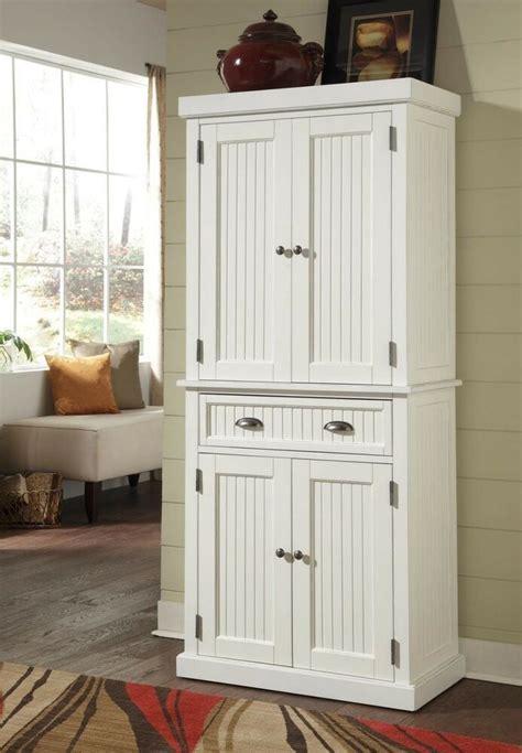 Kitchen Cabinet Tall Organizer Pantry Storage Doors Shelf