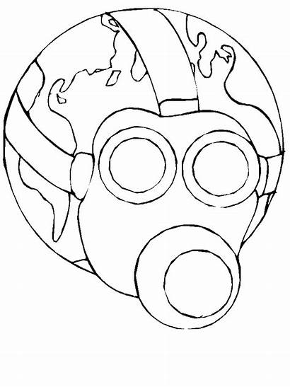 Earth Coloring Pages Colouring Printable Eco Drawing