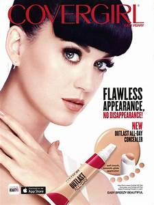Katy Perry, Singer - CoverGirl : Celebrity Endorsements ...