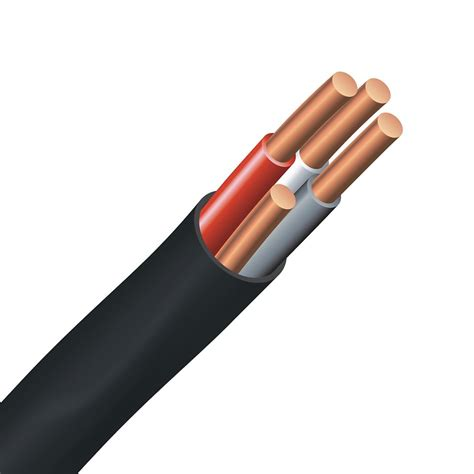 underground wire southwire underground electrical cable copper electrical wire gauge 6 3 nmwu 6 3 black 150m