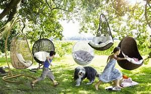 Fauteuil De Jardin Suspendu : des fauteuils suspendus pour le jardin shake my blog ~ Teatrodelosmanantiales.com Idées de Décoration