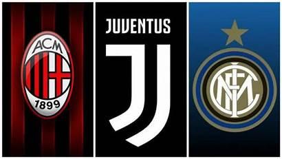 Milan Inter Juventus Dei Loghi Juve Anni