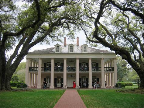 Oak Alley Plantation Famous Colonial American Homes