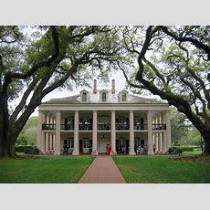 Oak Alley Plantation  Famous Colonial American Homes