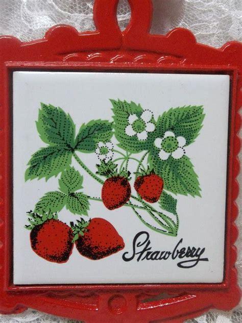 Kitchen Decor Inc Strawberry Kitchen Decorations