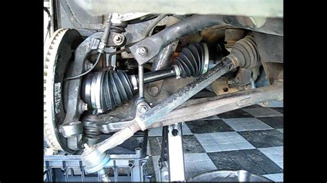 replace front wheel drive shaft  shaft cv axle