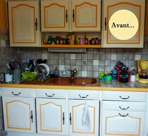 renover carrelage cuisine repeindre ma cuisine fraîche initiales gg avant apr s