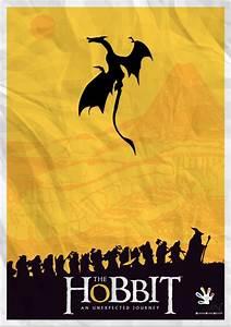 A minimalist poster of The Hobbit. @Rubix Cube Media   Art ...