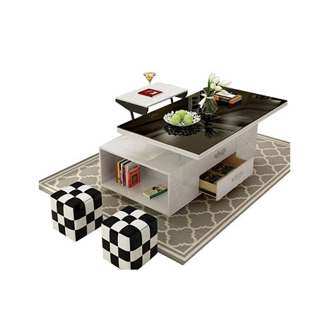 The gemelli coffee table is designed stylishly combining the concept of two tables in one. electric multifunction foldable Coffee Table Living Room liftable and lowerable minimalist ...
