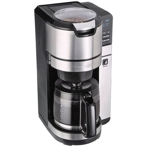 February 12, 2019 by josh mannic leave a comment. Hamilton Beach Programmable Grind & Brew 12 Cup Coffee Maker - 45505 | London Drugs