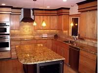 granite kitchen countertops Santa Cecilia Light Granite to Create Glamour and Modern ...