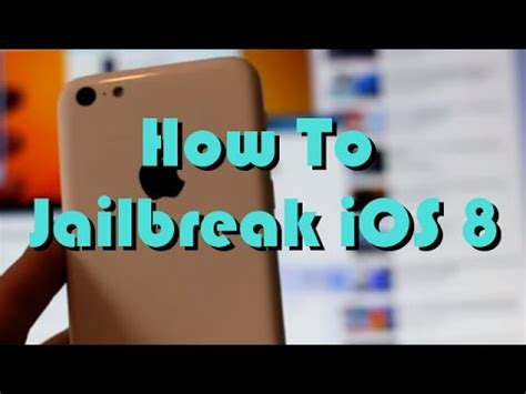 how to jailbreak an iphone 5c how to jailbreak ios 8 3 8 4 on iphone 5 5c 6 ipod