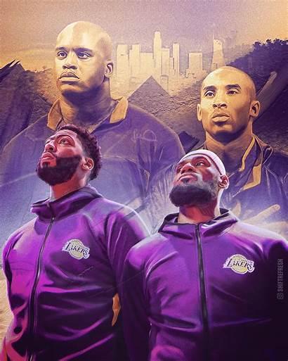 Lebron Ad Lakers James Kobe Davis Anthony