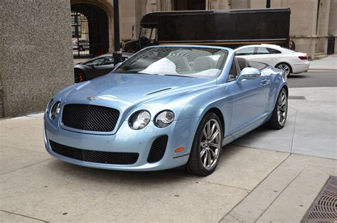 bentley continental supersports convertible stock
