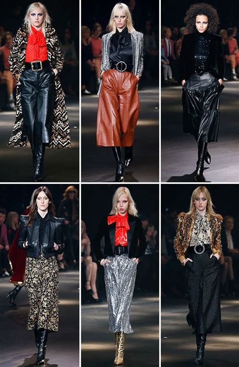 Glam Style by Top Hits No Desfile Glam Rock Da Laurent Moda