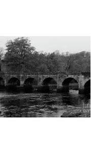 Castle Bridge in Buncrana Donegal Ireland bw Photograph by ...