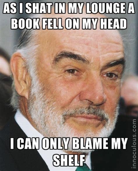 Sean Connery Mustache Meme - best of the sean connery accent meme innoculous com