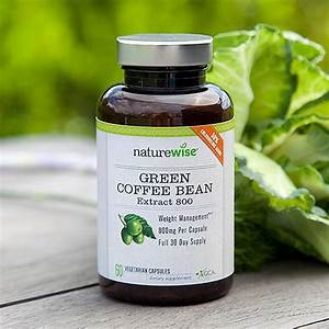 Amazon Com  Naturewise Green Coffee Bean Extract 100  Pure With Antioxidants  All Natural Weight