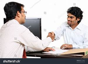 Indian Young Business People Working In The Office Stock ...