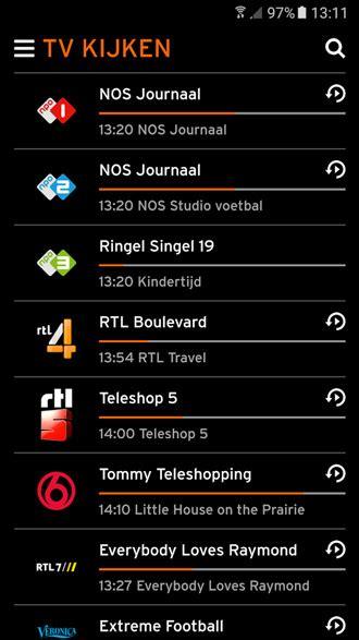 ziggo  uitgebracht interactieve tv app vervangt horizon