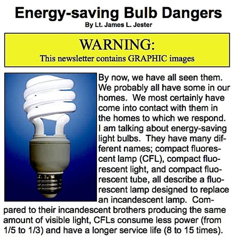 energy saving light bulbs dangers lad oma green